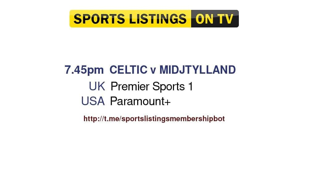 Champions League 20/7/2021 - Celtic v Midtjylland