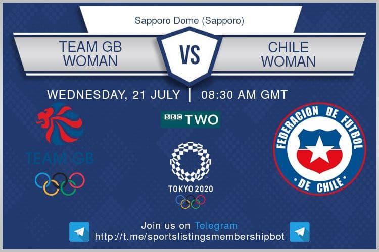 Football 21/7/2021 - Team GB v Chile