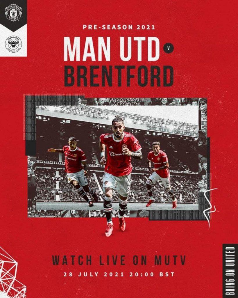 Football 28/7/2021 - MUTV Promo Pic
