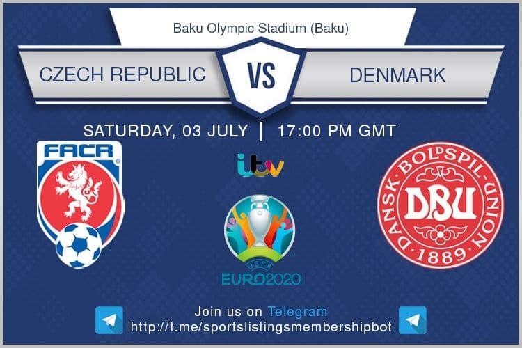 Euros 3/7/2021 - Czech Republic v Denmark