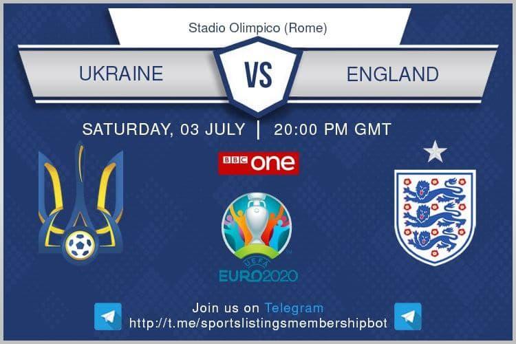 Euros 3/7/2021 - Ukraine v England.