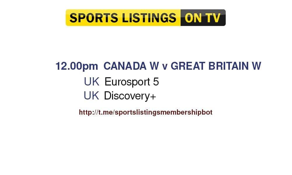 Olympics 27/7/2021 - Canada v Team GB