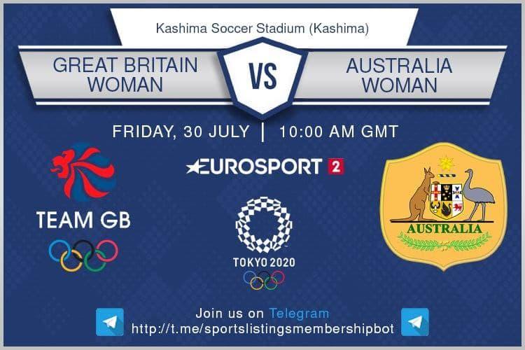Football 30/7/2021 - GB v Australia