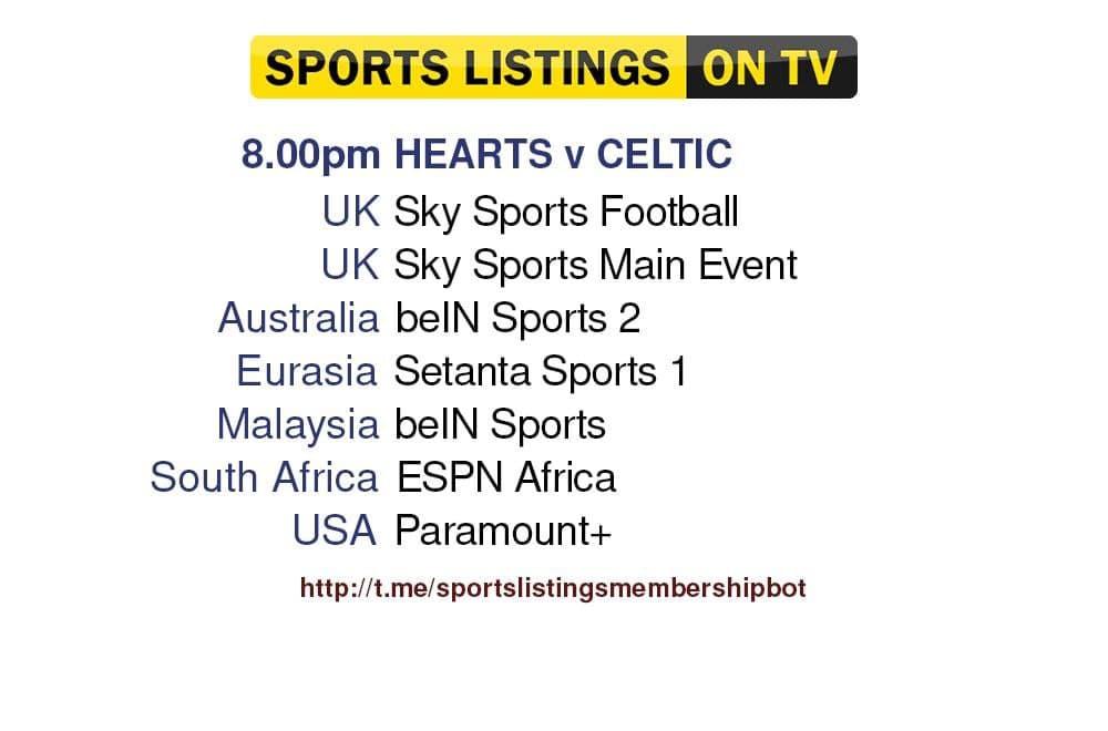 Football 31/7/2021 - Hearts v Celtic