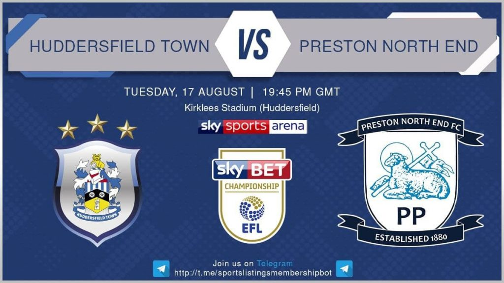 Football 17/8/2021 - Huddersfield v Preston North End