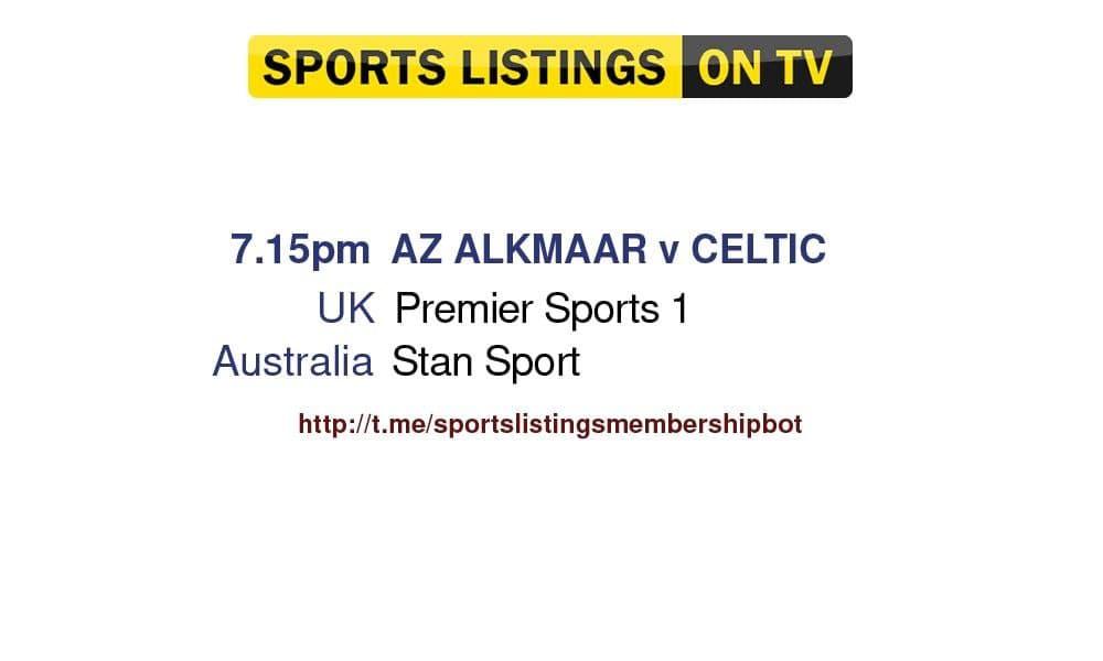 football 26/8/2021 - AZ Alkmaar v Celtic detailed