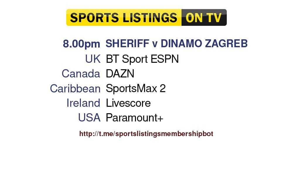 Football 17/8/2021 - Sheriff Tiraspol v Dinamo Zagreb