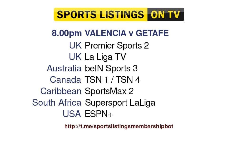 Football 13/8/2021 - Valencia v Getafe