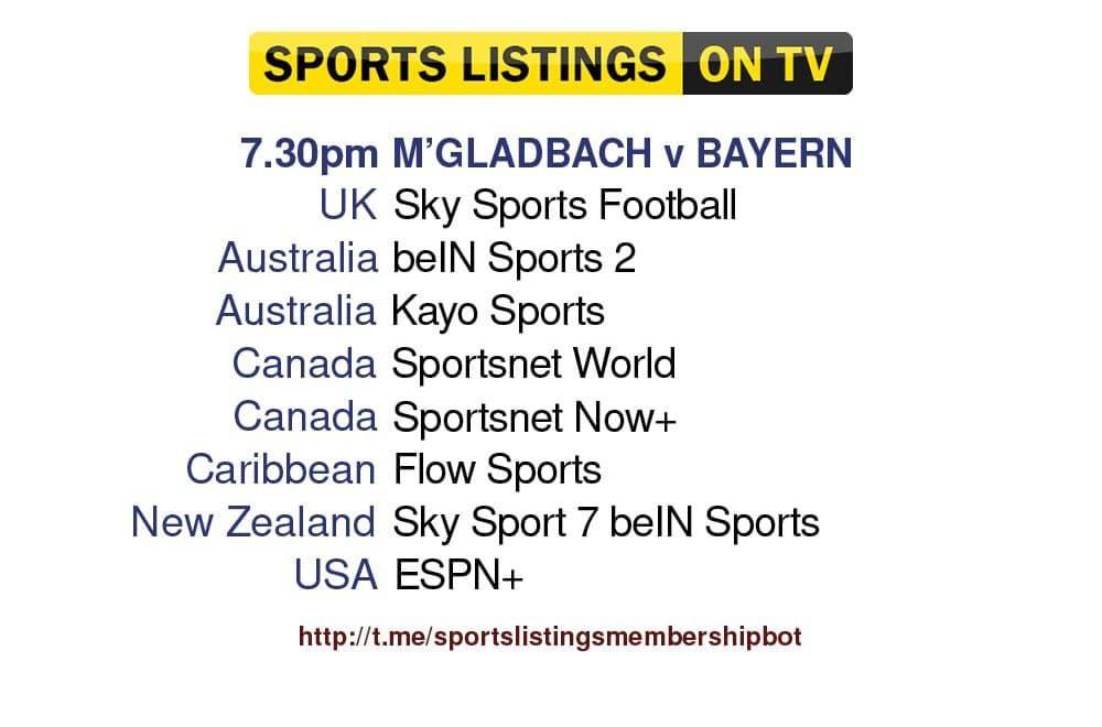 Football 13/8/2021 -Borussia M.Gladbach v Bayern Munich