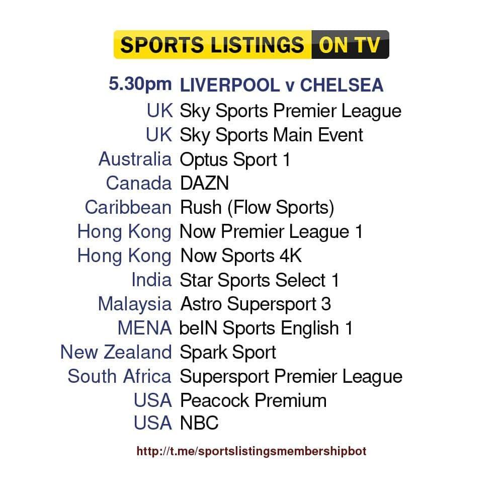 Football 28/8/2021 - Liverpool v Chelsea