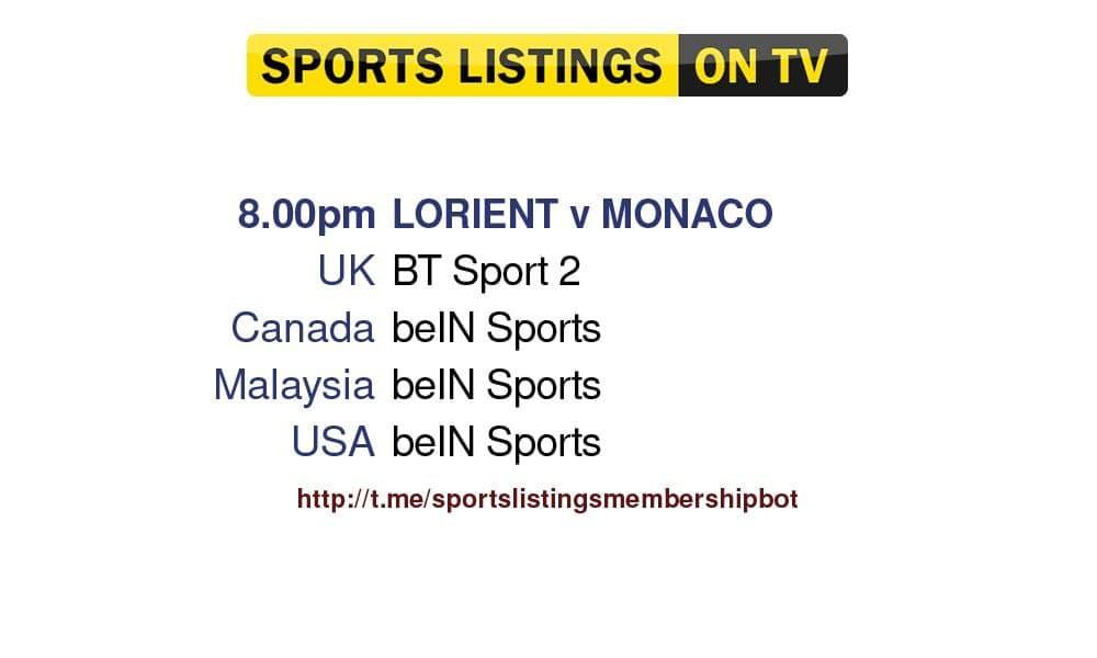 FC Lorient v Monaco