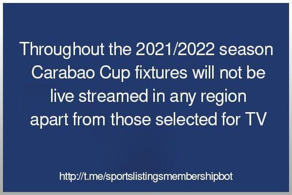 Football 25/8/2021 -EFL