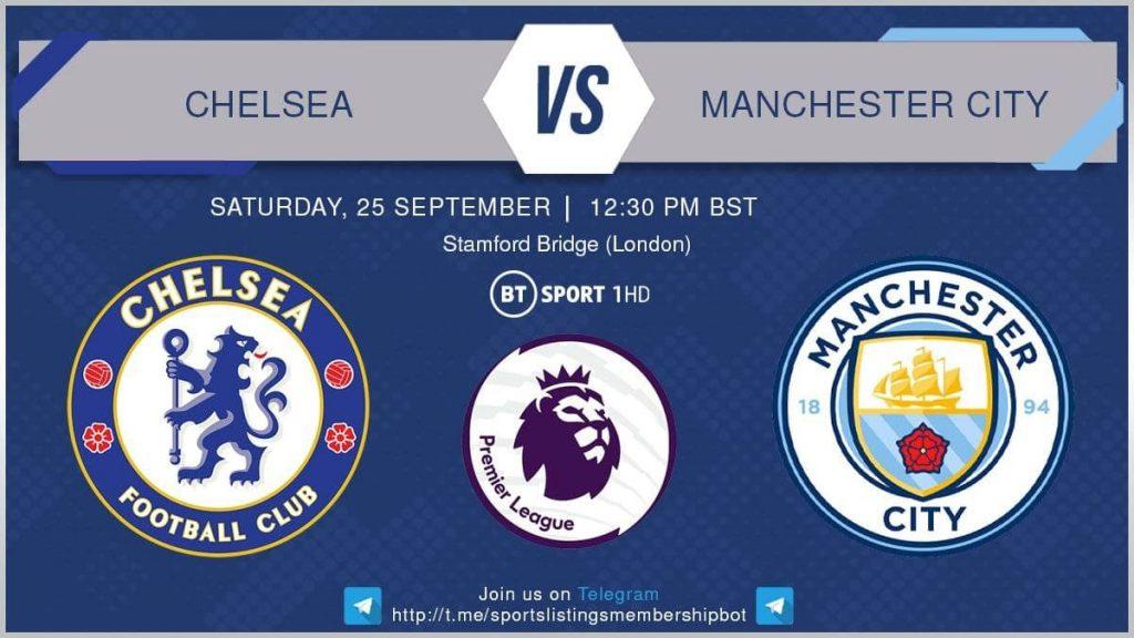 Premier League 25/9/2021 - Chelsea v Manchester City