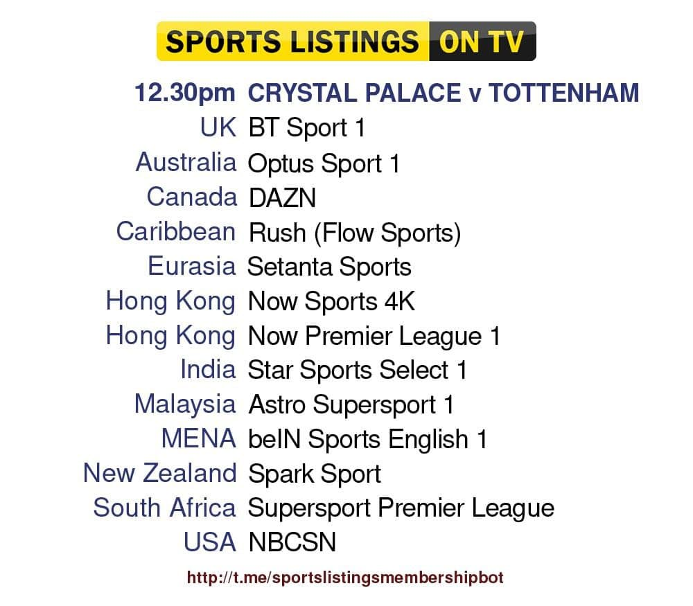 Premier League 11/9/2021 - Crystal Palace v Tottenham Hotspur