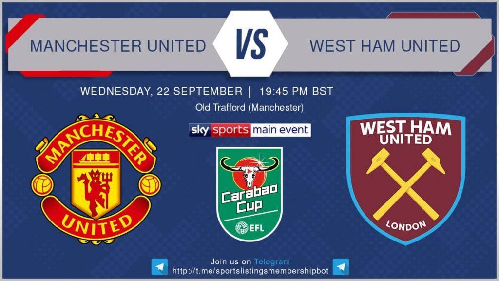 Football 22/9/2021 - Manchester United v West Ham United