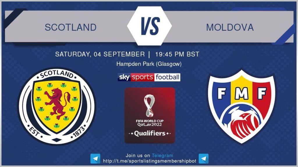 Football 4/9/2021 - Scotland v Moldova