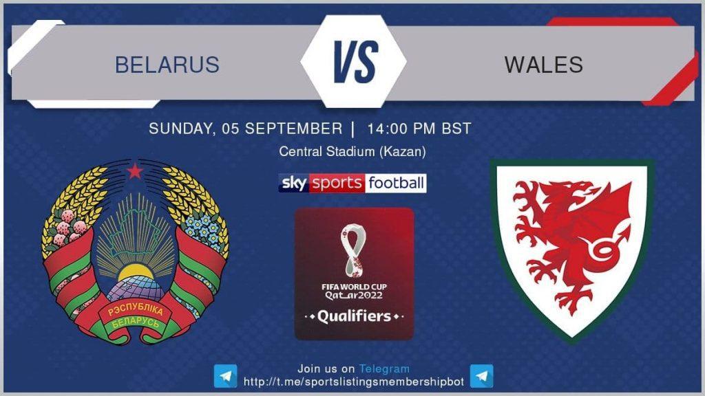 Football 5/9/2021 - Belarus v Wales