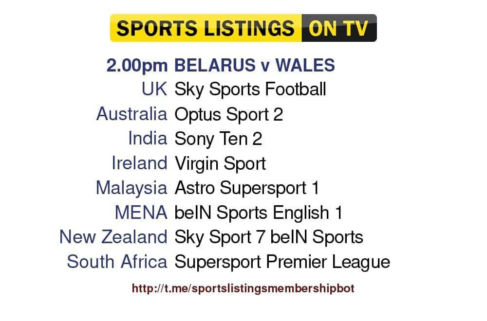 Football 5/9/2021 - Belarus v Wales - Detailed