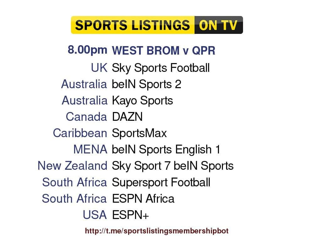 Football 24/9/2021 - West Bromwich Albion v QPR