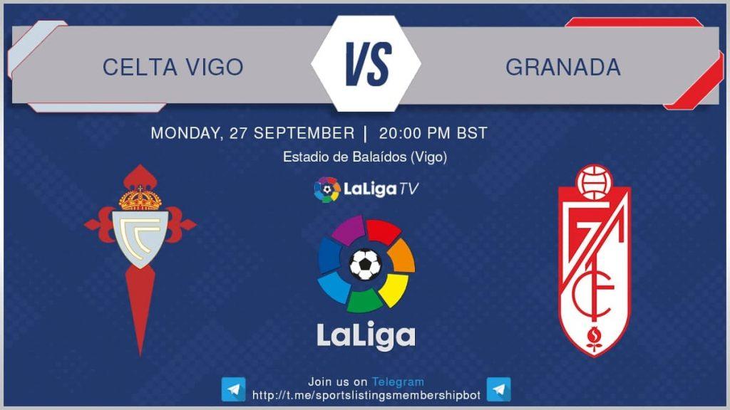 Premier League 27/9/2021 - Celta Vigo v Granada