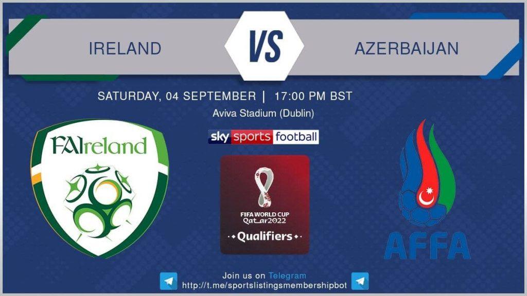 Football 4/9/2021 - Ireland v Azerbaijan
