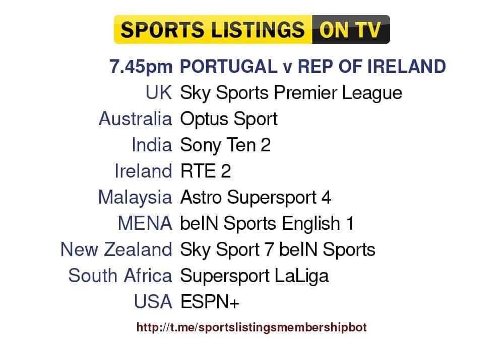 Football 1/9/2021 - Portugal v Ireland