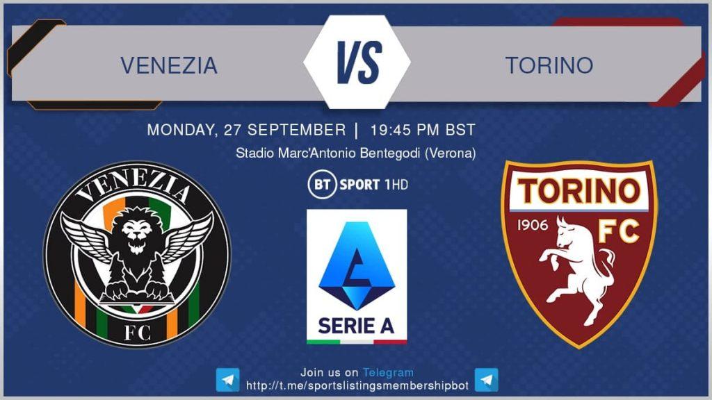 Premier League 27/9/2021 - Venezia v Torino