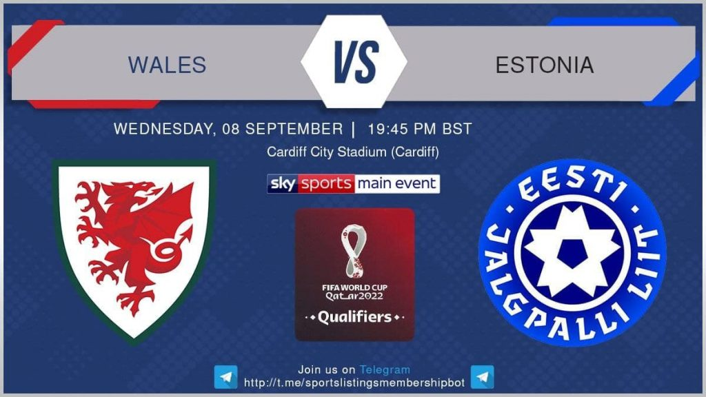 World Cup Qualifiers 8/9/2021 - Wales v Estonia
