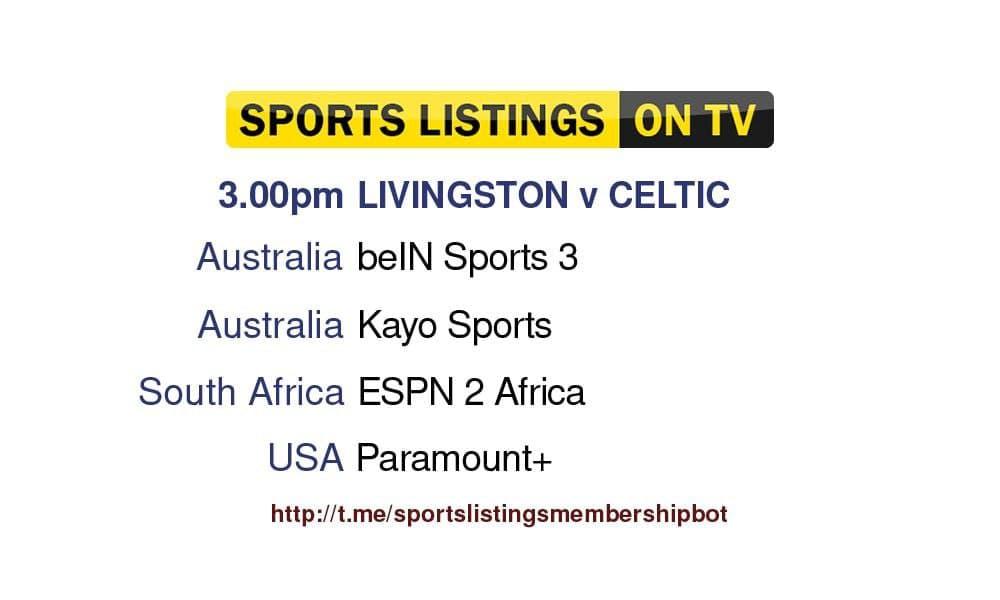 Premier League 19/9/2021 - Livingston v Celtic