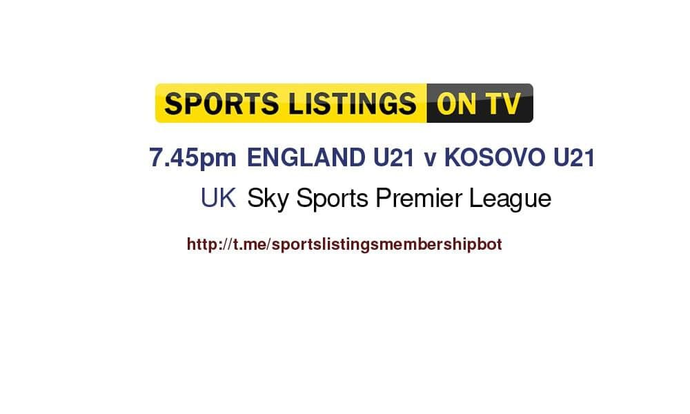 Football 7/9/2021 - U21 Championship - England v Kosovo Detailed
