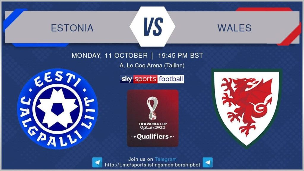 World Cup Qualifiers 11/10/21 - Estonia v Wales