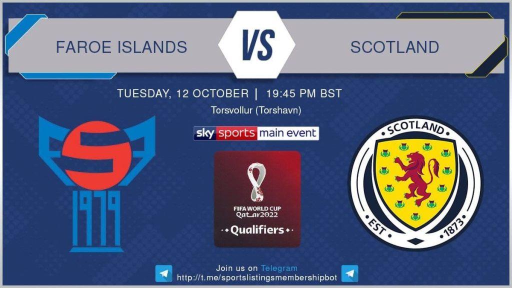 World Cup Qualifiers 12/10/21 - Faroe Islands v Scotland