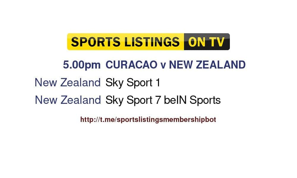 World Cup Qualifiers 9/10/21 - Curacao v New Zealand