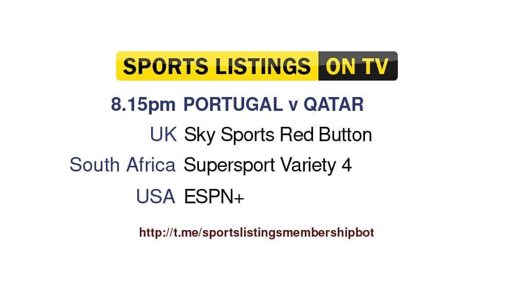 World Cup Qualifiers 9/10/21 - Portugal v Qatar