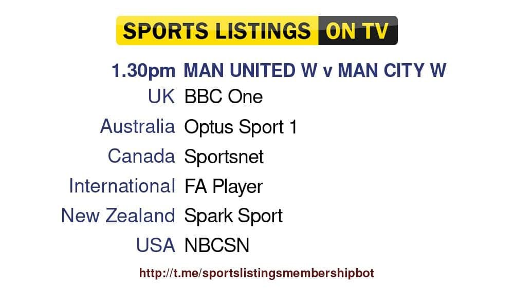 World Cup Qualifiers 9/10/21 - Manchester United W v Manchester City W